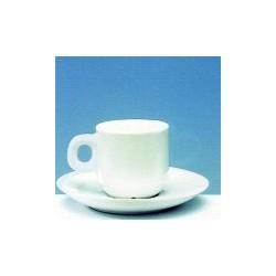 Tasse à café et sous tasse