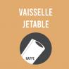Vaisselle jetable