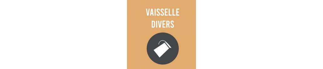 Vaisselle divers