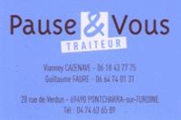 Pause & Vous Traiteur